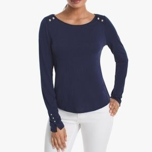 WHBM Long Sleeve Tee